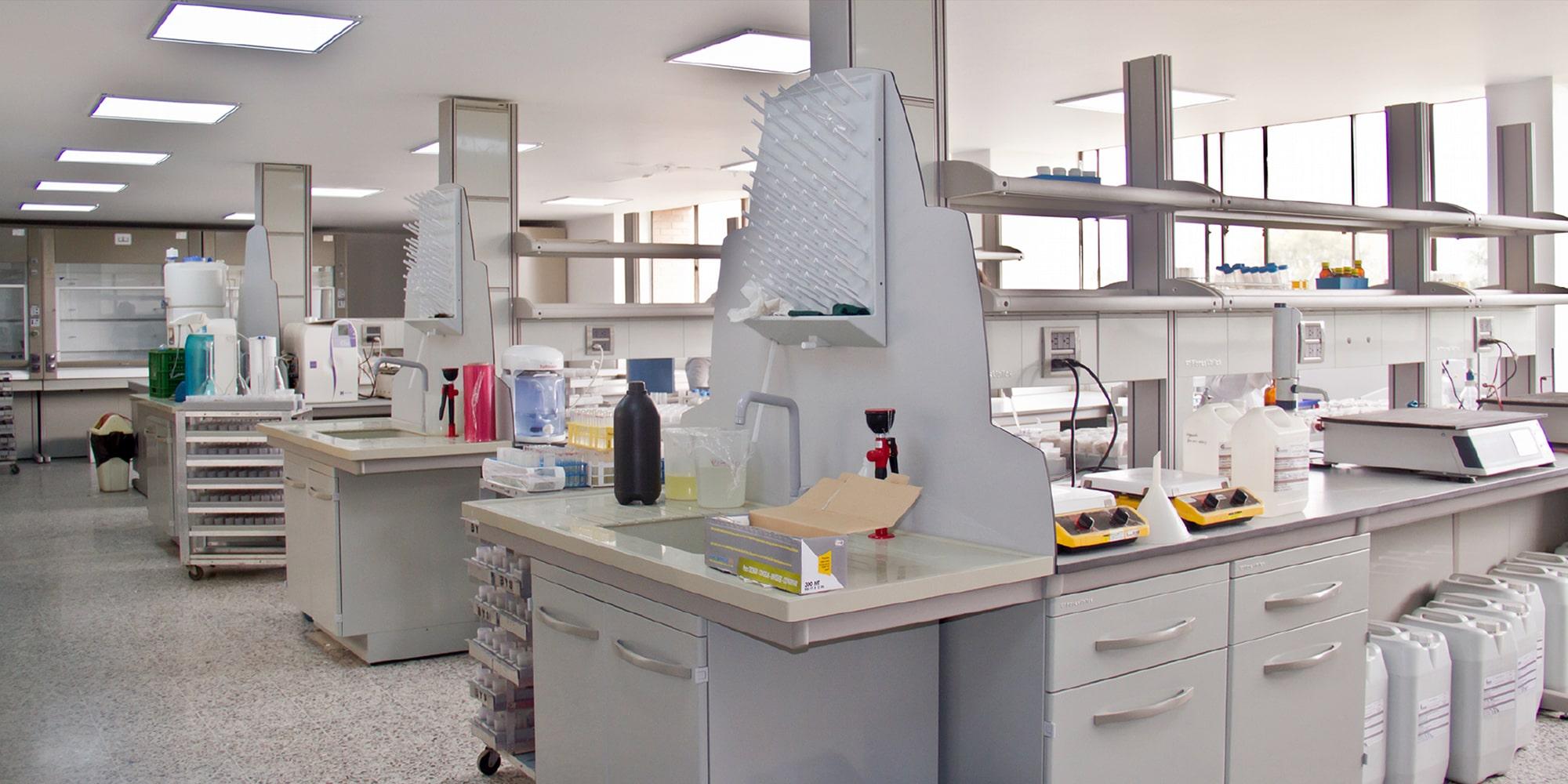 Laboratoris Corpoica a Bogotà
