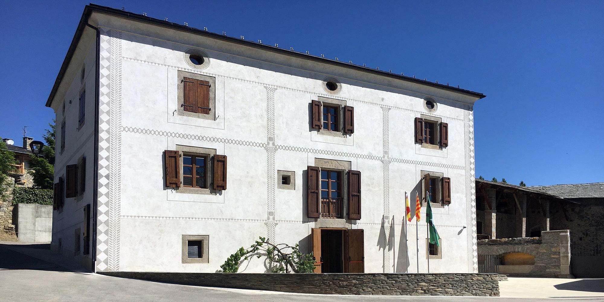 Rehabilitació de Cal Fanxico per a la nova seu de l'Ajuntament de Bolvir